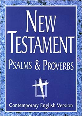 New Testament Psalms and Proverbs-Cev-Giant Print 9781585162383