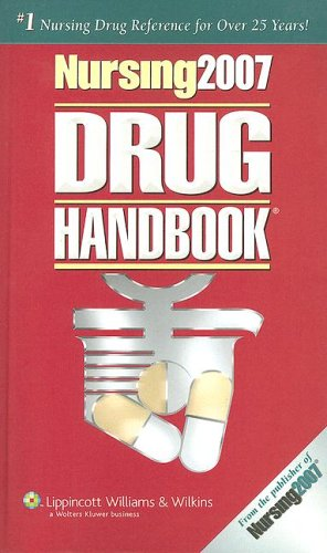 Nursing 2007 Drug Handbook [With Mini CDROM]