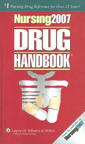 Nursing 2007 Drug Handbook [With Mini CDROM]