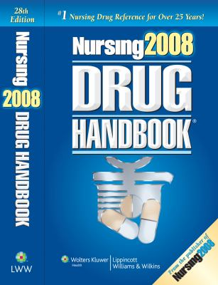 Nursing Drug Handbook [With CDROM] 9781582556833
