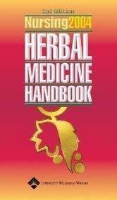 Nursing2004 Herbal Medicine Handbook 9781582552316
