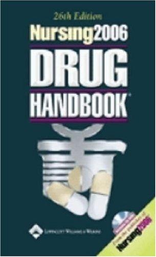 Nursing2006 Drug Handbook [With CD-ROM] 9781582554044