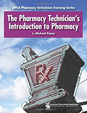 Pharmacy Technicians Introduction to Pharmacy 9781582120935