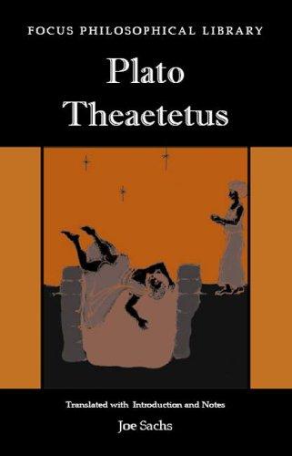 Plato's Theatetus: 9781585101016