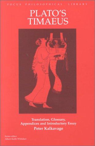 Plato's Timaeus 9781585100071