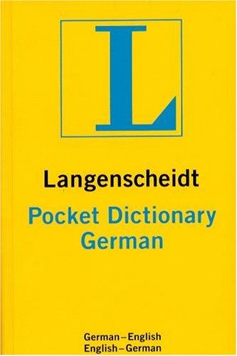 Pocket German 9781585730506