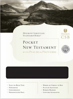 Pocket New Testament with Psalms and Proverbs-HCSB 9781586404802