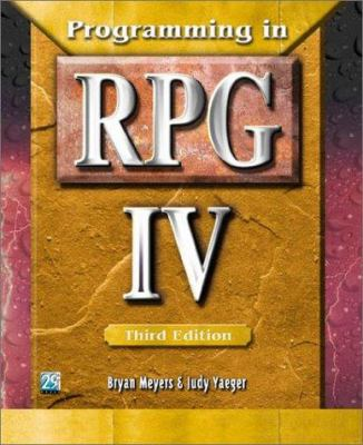Programming in RPG IV 9781583040942