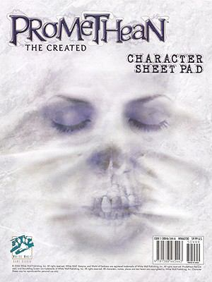 Promethean Character Sheet Pad 9781588465443