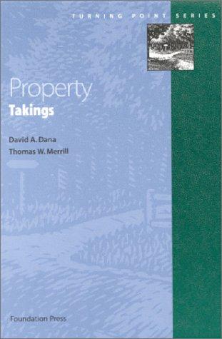 Property: Takings 9781587780783