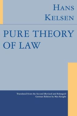 Pure Theory of Law 9781584775782