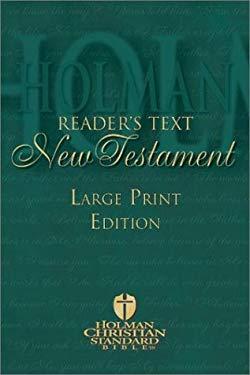 Reader's Text New Testament Bible 9781586400194