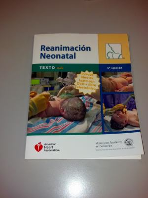 Reanimacion Neonatal Manual/Spanish Nrp Textbook Plus 9781581106749