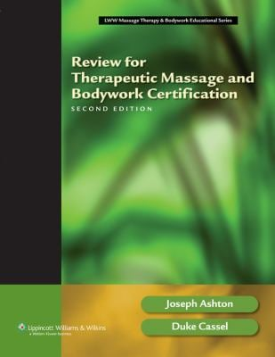 Review for Therapeutic Massage and Bodywork Certification 9781582555638
