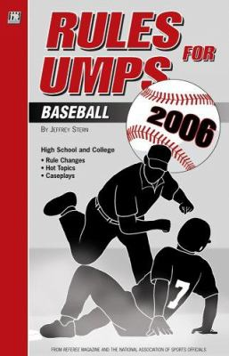 Rules for Umps: Baseball 9781582080635
