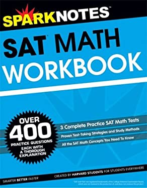 SAT Math Workbook (Sparknotes Test Prep) 9781586639563