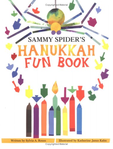 Sammy Spider's Hanukkah Fun Book 9781580130325