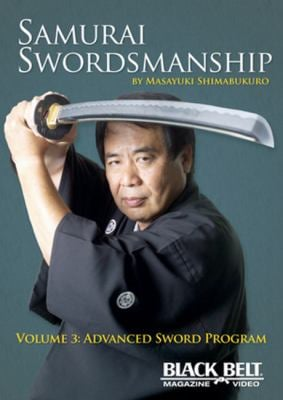 Samurai Swordsmanship, Volume 3: Advanced Sword Program 9781581334456