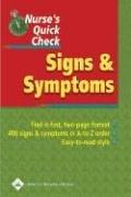 Signs & Symptoms 9781582554136