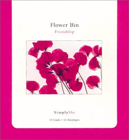 Simply She: Flower Bin Friendship - Note Cards [With Keepsake Box] 9781584791812