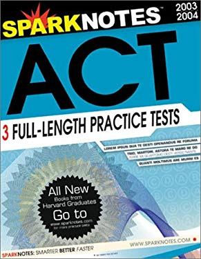 Sparknotes Guide to the ACT (Sparknotes Test Prep) 9781586634261