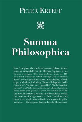 Summa Philosophica 9781587318252