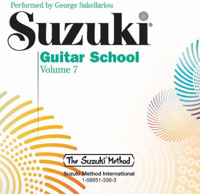 Suzuki Guitar School, Vol 7 9781589513365