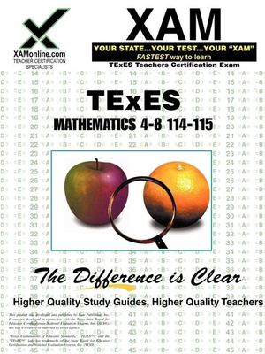 TExES Mathematics 4-8 114-115 9781581979329