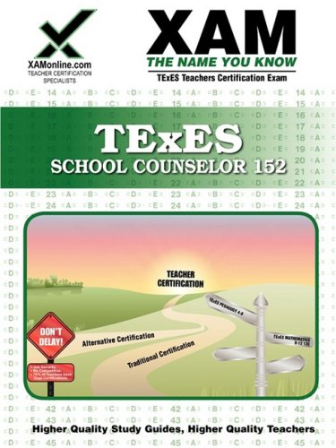 TExES School Counselor 152 9781581977196