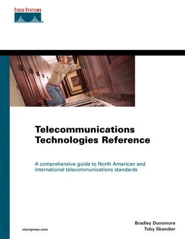 Telecommunications Technologies Reference 9781587050367