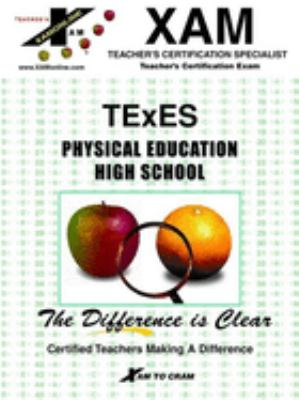 Texes Physical Education High School 9781581971132