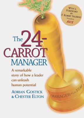 The 24-Carrot Manager 9781586851545