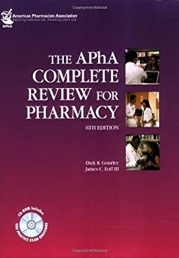The Apha Complete Review for Pharmacy 9781582121413