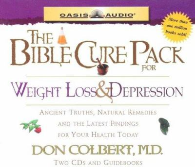 The Bible Cure Pack 3: Weight Loss and Depression 9781589266094