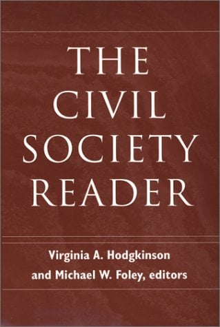 The Civil Society Reader 9781584652786