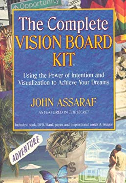 The Complete Vision Board Kit: Using the Power of Intention and Visualization to Achieve Your Dreams [With Vision Board BookWith Inpirational Words an 9781582701912