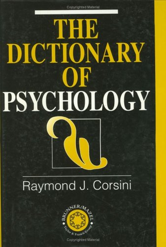 The Dictionary of Psychology 9781583910283