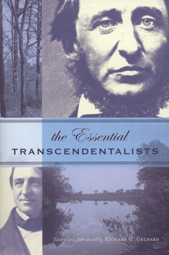 The Essential Transcendentalists 9781585424344