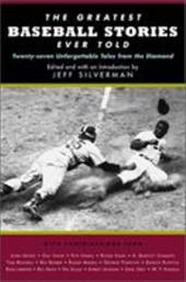 The Greatest Baseball Stories Ever Told 7188012