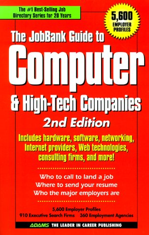The Jobbank Guide to Computer & High-Tech Companies 9781580621397