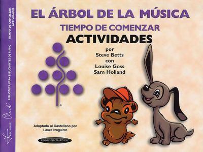 El Arbol de la Musica Tiempo de Comenzar Actividades 9781589510272