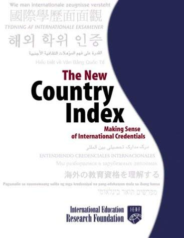The New Country Index: Making Sense of International Credentials 9781580085700