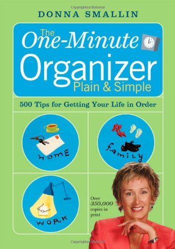 The One-Minute Organizer Plain & Simple 9781580175845