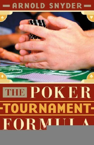 The Poker Tournament Formula 9781580422031