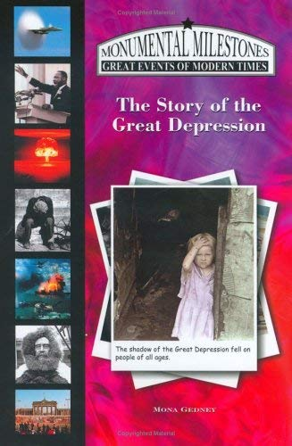 The Story of the Great Depression 9781584154037