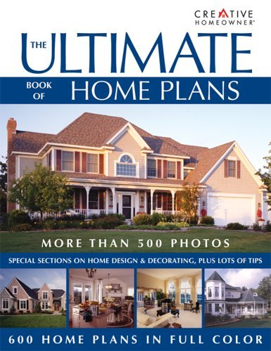 The Ultimate Book of Home Plans 9781580111867