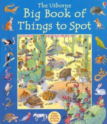 The Usborne Big Book of Things to Spot 9781580864961
