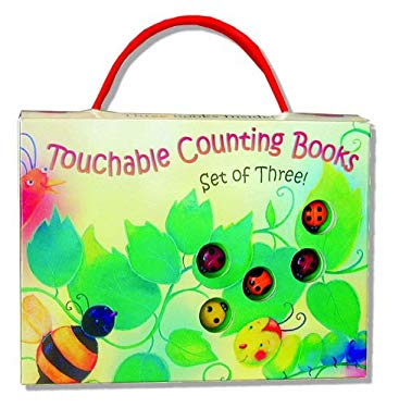 Touchable Counting Books Tote 9781581172843
