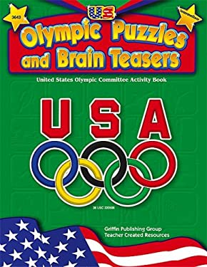 U.S. Olympic Puzzles and Brain Teasers (Intermediate) 9781580000826