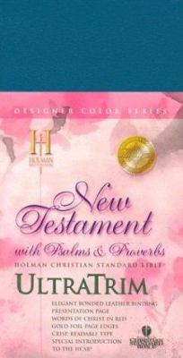 Ultratrim New Testament with Psalms and Proverbs-Hcsb 9781586400408